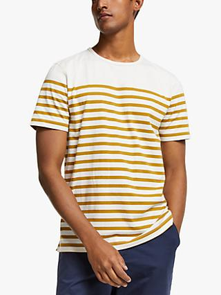 John Lewis & Partners Engineered Breton Stripe T-Shirt