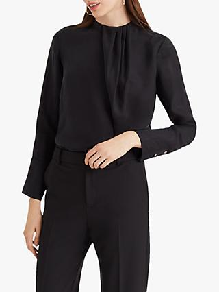 Club Monaco Asymmetric Top, Black