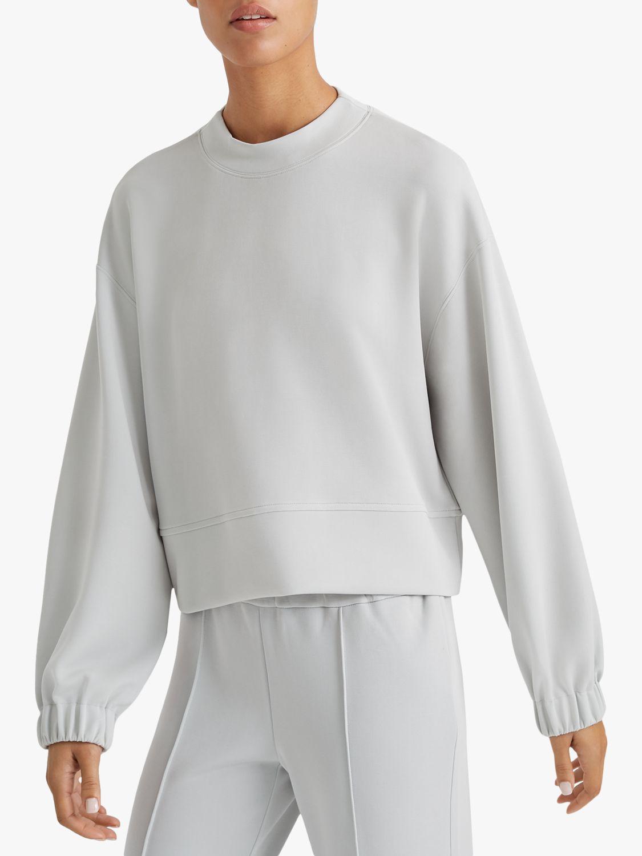 Club Monaco Club Monaco Blouson Sleeve Sweatshirt, Cloud