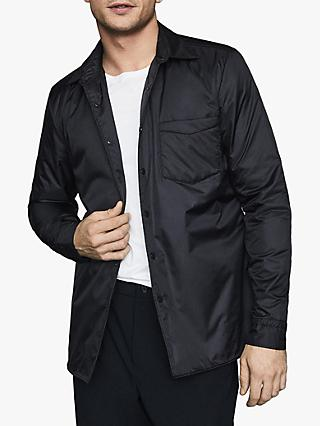 Reiss Pudra Wadded Jacket, Navy