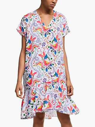 PS Paul Smith Print T-Shirt Dress, Off White