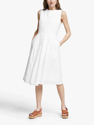 PS Paul Smith Broderie Anglaise Dress, Off White