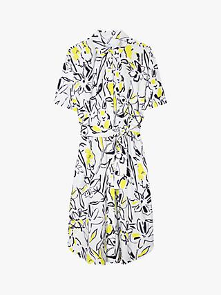 PS Paul Smith Printed Short Sleeve Shirt Dress, Off White