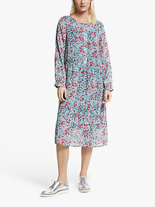Numph Aphra Floral Print Dress, Pondarosa