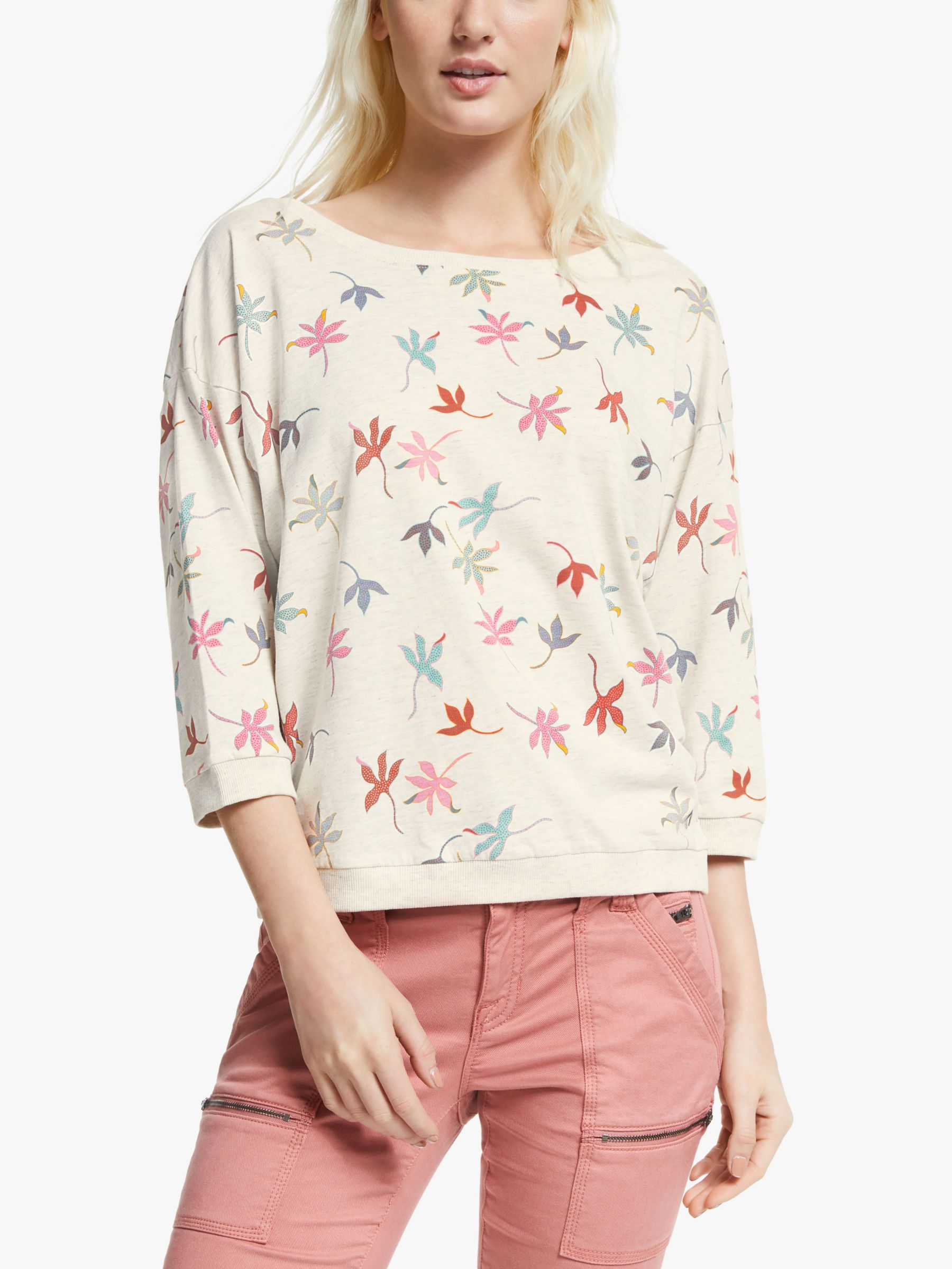 Numph Numph Brighed Leaf Top, Cloud Dancer