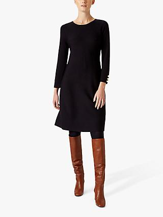 Hobbs Rebecca Knitted Dress, Navy