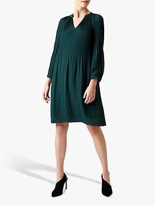Hobbs Emilia Dress, Dark Green