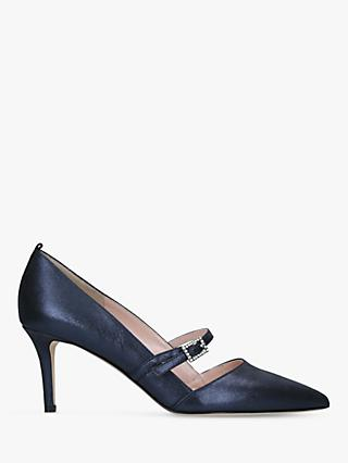 SJP by Sarah Jessica Parker Nirvana 70 Leather Court Shoes, Navy