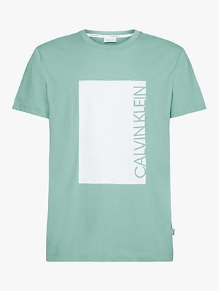 Calvin Klein Logo Cut Out T-Shirt