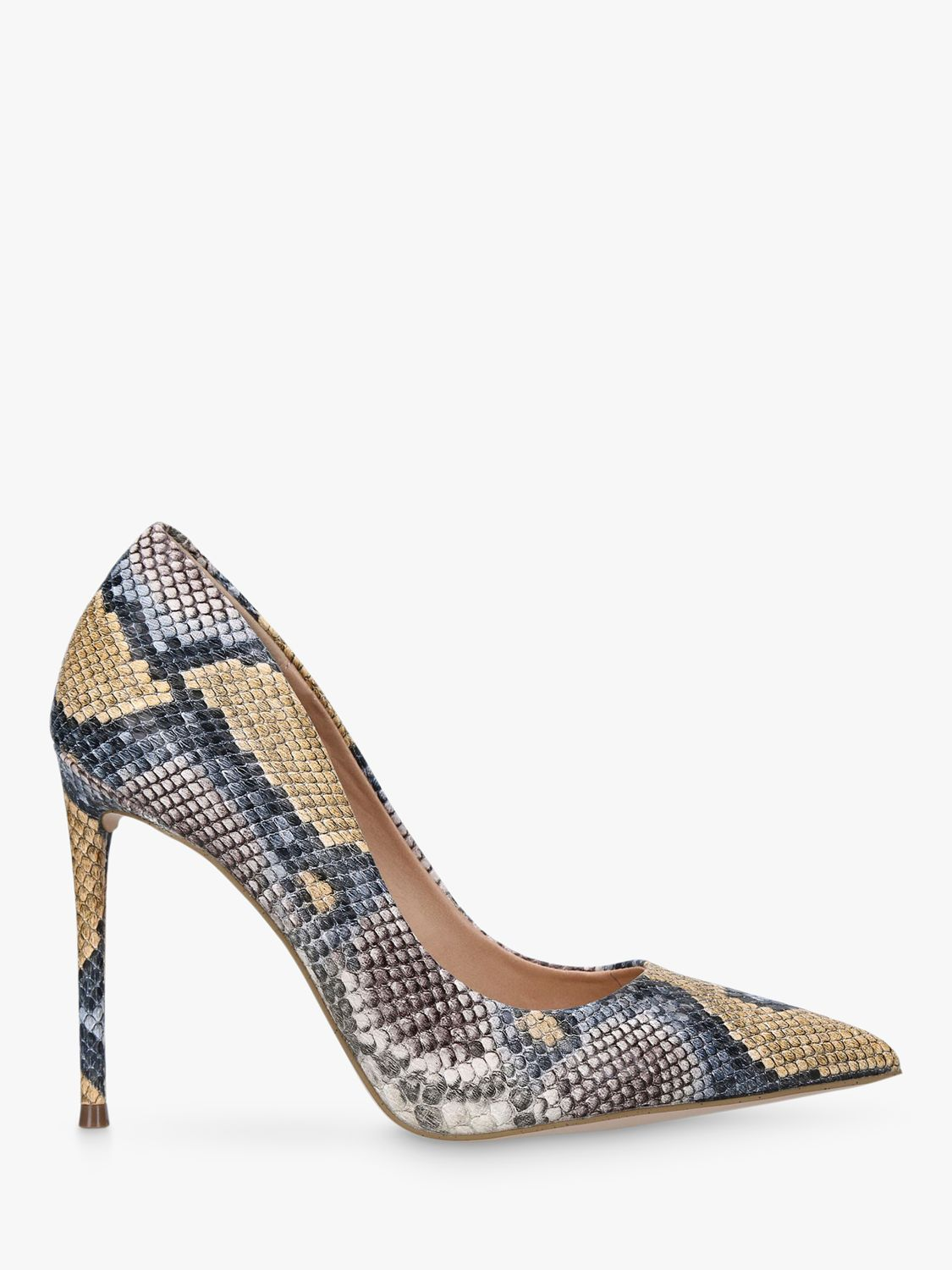 Steve Madden Steve Madden Vala Court Shoes, Snakeprint