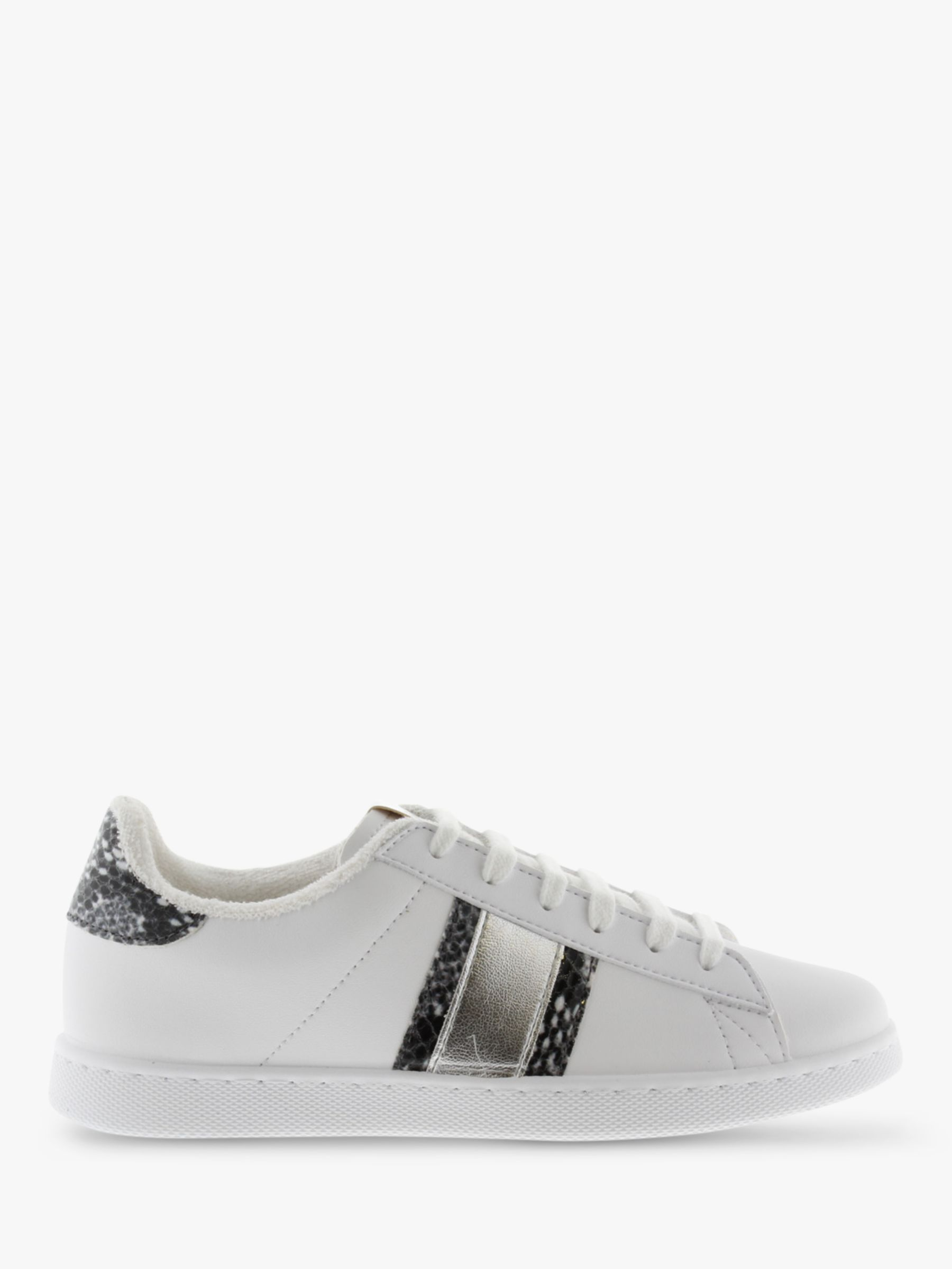 Victoria Shoes Victoria Shoes Tenis Banda Trainers, White/Snakeprint