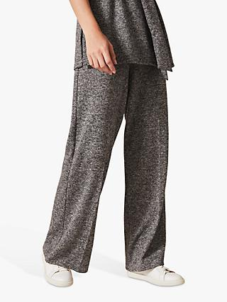 Phase Eight Geneva Wide Leg Trousers, Grey