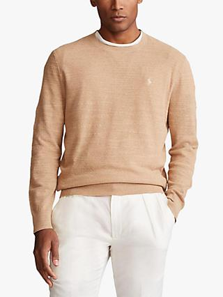 Polo Ralph Lauren Regular Fit Cotton Linen Sweater