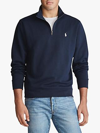 Polo Ralph Lauren Double Knit Zip Sweatshirt