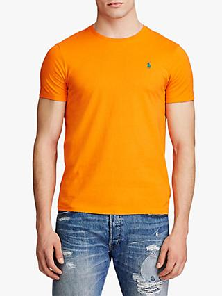 Polo Ralph Lauren Washed Cotton Crew Neck T-Shirt