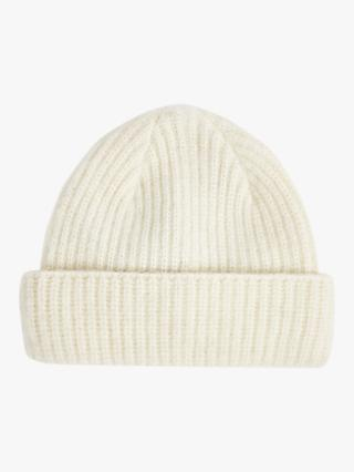 Jigsaw Lambswool Brushed Turnback Beanie