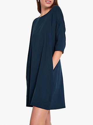 hush Iris Oversized T-Shirt Dress, Midnight