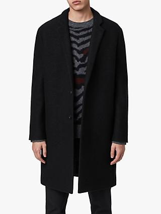 AllSaints Grafton Wool Coat, Black