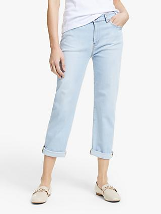 Weekend Max Mara Olea Cropped Light Jeans, Midnight Blue