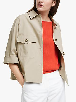 Weekend MaxMara Pontiac Cropped Jacket, Sand
