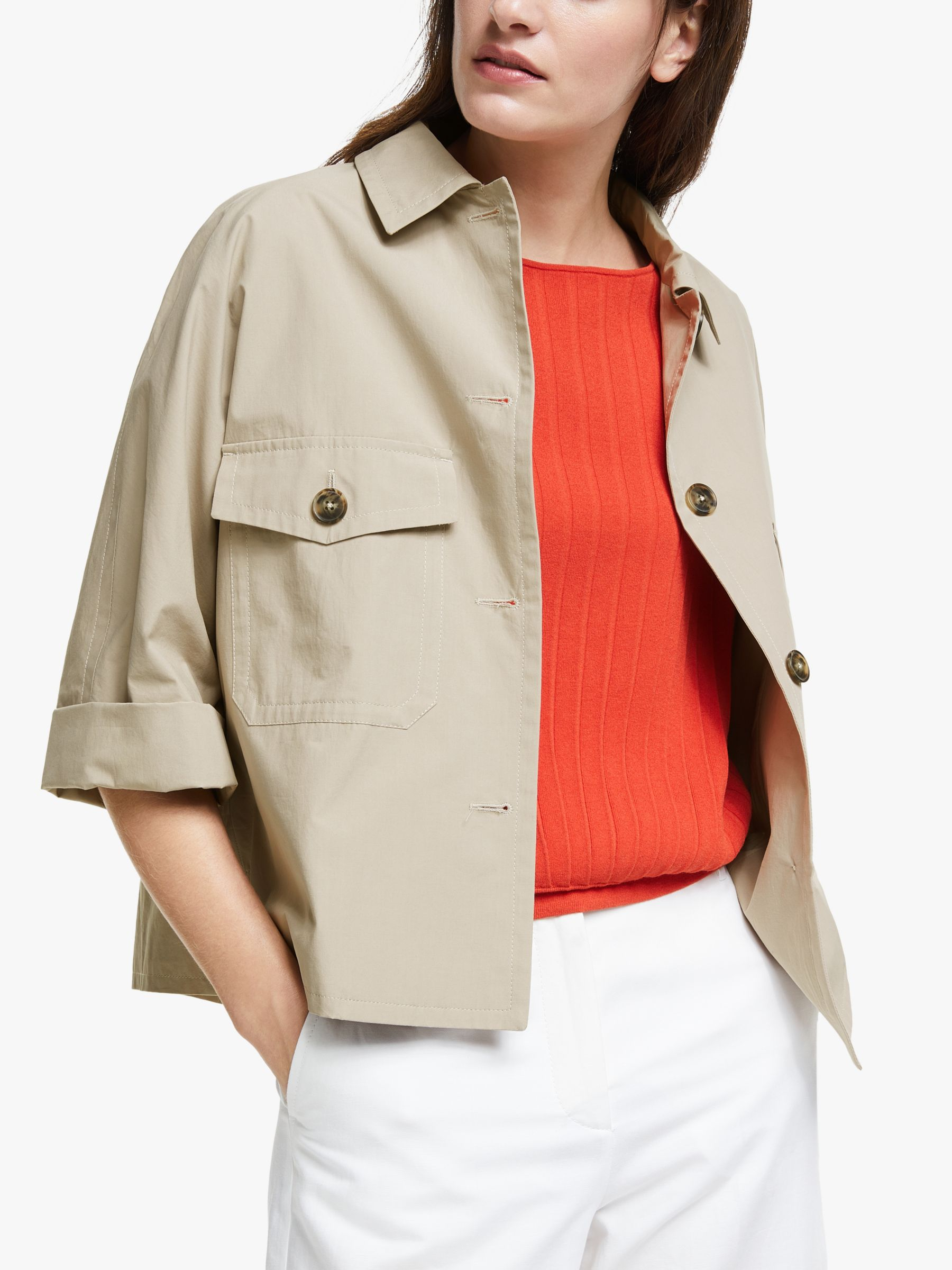 WEEKEND MaxMara Weekend MaxMara Pontiac Cropped Jacket, Sand