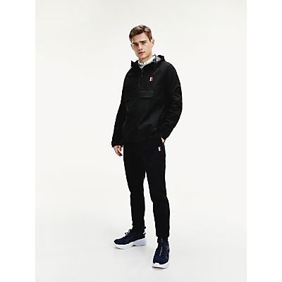 Tommy Hilfiger Essential Popover Jacket, Black