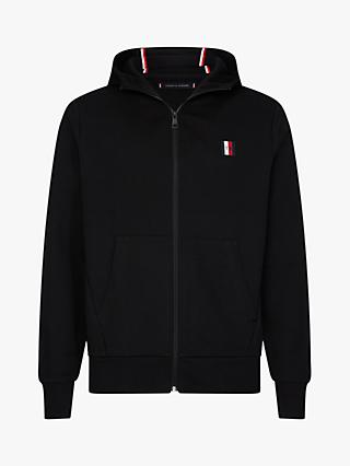 Tommy Jeans Modern Essentials Zip Through Hoodie, Black