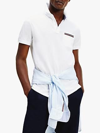 Tommy Hilfiger Cotton Pocket Detail Slim Fit Polo Shirt