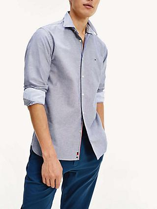 Tommy Hilfiger Organic Cotton Oxford Shirt, Carbon Navy