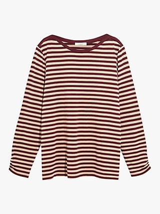 Oasis Curve Stripe Top, Multi