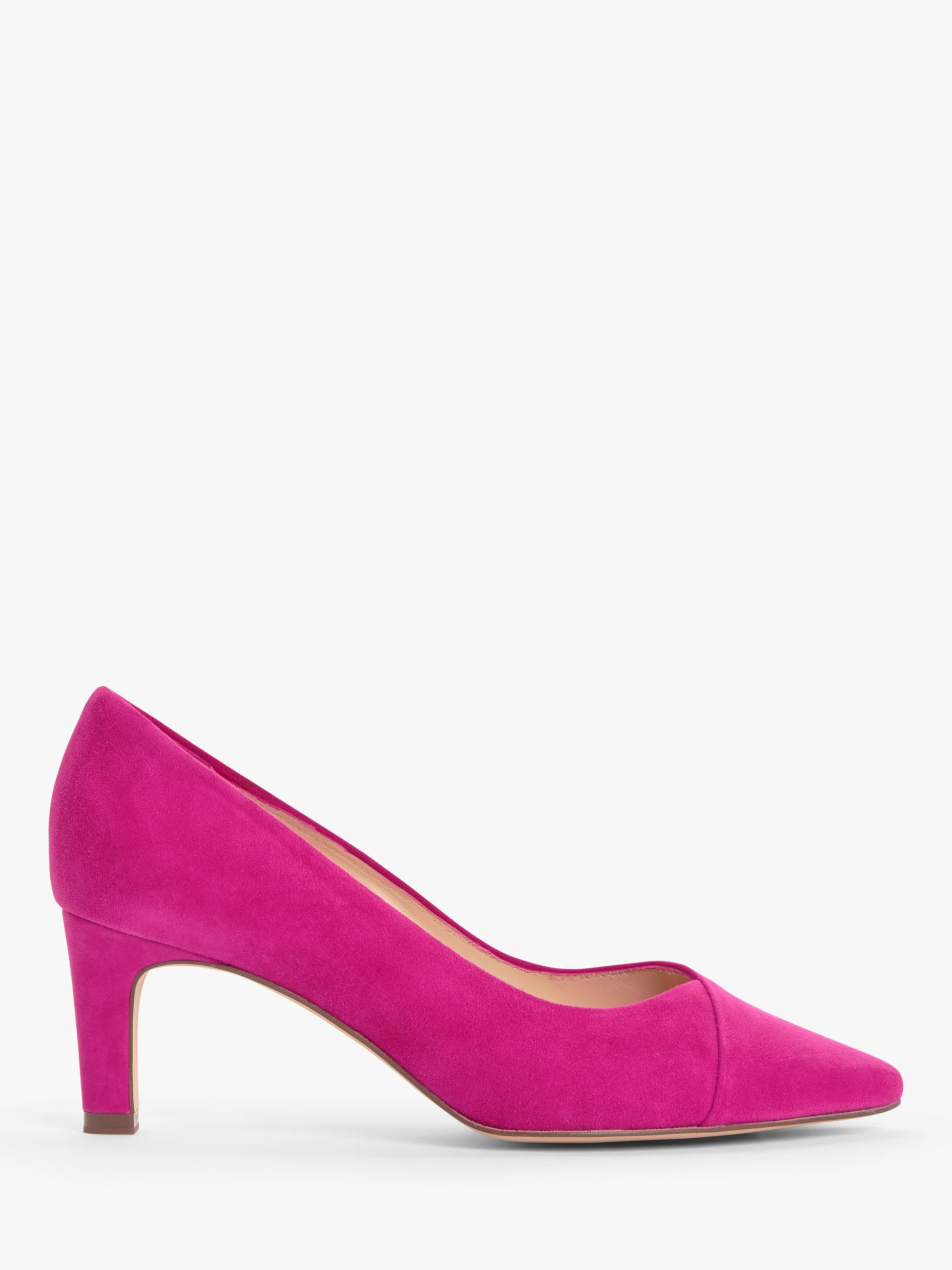 Peter Kaiser Peter Kaiser Maike Suede Court Shoes, Berry