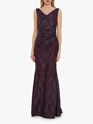 Gina Bacconi Ailana Lace Maxi Dress