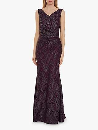 Gina Bacconi Ailana Lace Maxi Dress