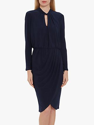 Gina Bacconi Jeanlee Jersey Dress, Navy