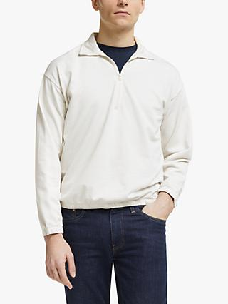 Save Khaki United 1/4 Zip Sweatshirt, Ash