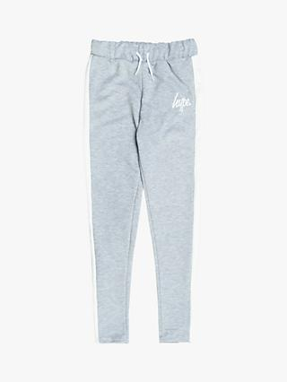 Hype Girls' Side Stripe Joggers, Grey