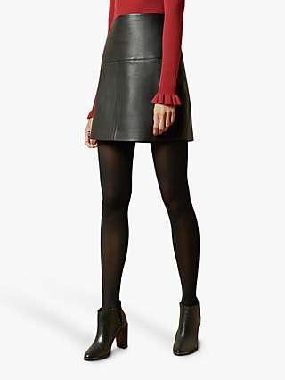 Ted Baker Valiat Leather Skirt