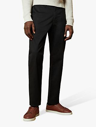 Ted Baker Clncere Classic Fit Chinos, Black