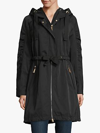 Betty Barclay Tie Waist Hooded Parka