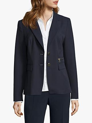 Betty Barclay Two Button Blazer, Dark Sky