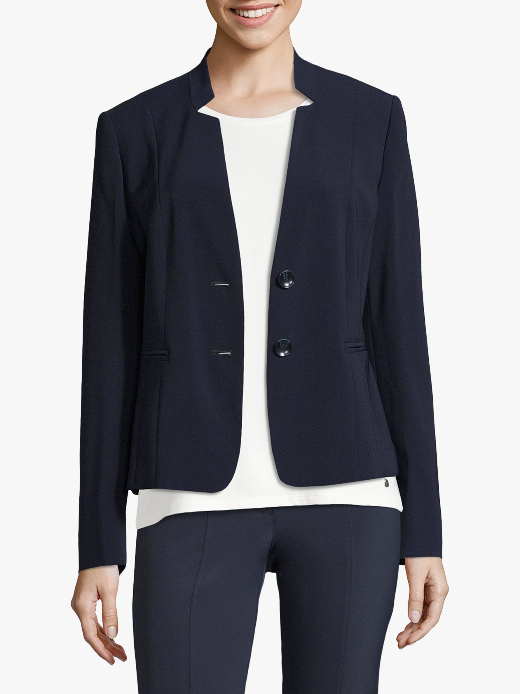Betty Barclay Betty Barclay Tailored Crepe Jacket