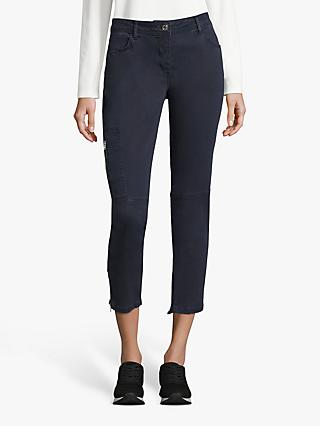 Betty Barclay Cropped Moleskin Jeans, Dark Sky