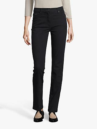 Betty Barclay Perfect Body 5 Pocket Jeans, Black Denim