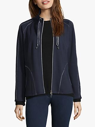 Betty Barclay Sweat Jacket, Dark Sky