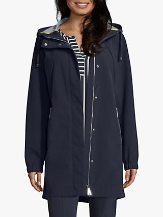 Betty Barclay Hooded Zipped Jacket, Deep Navy