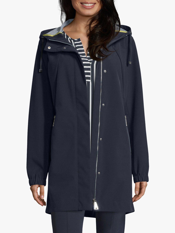 Betty Barclay Betty Barclay Hooded Zipped Jacket, Deep Navy