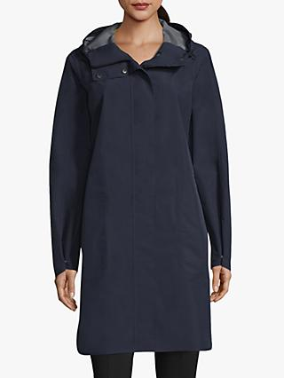 Betty Barclay Longline Waterproof Raincoat, Deep Navy