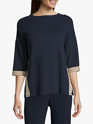 Betty Barclay Ribbed Jersey Top, Multi