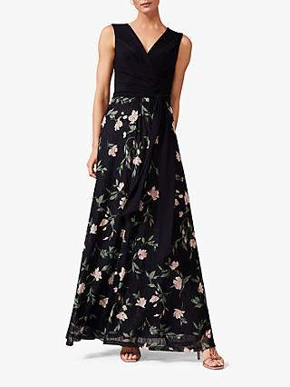 Phase Eight Leigh-Ann Maxi Dress, Navy/Multi