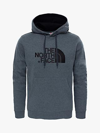 The North Face Drew Peak Hoodie, TNF Medium Grey Heather/TNF Black